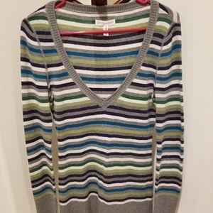Aeropostale striped sweater, size M